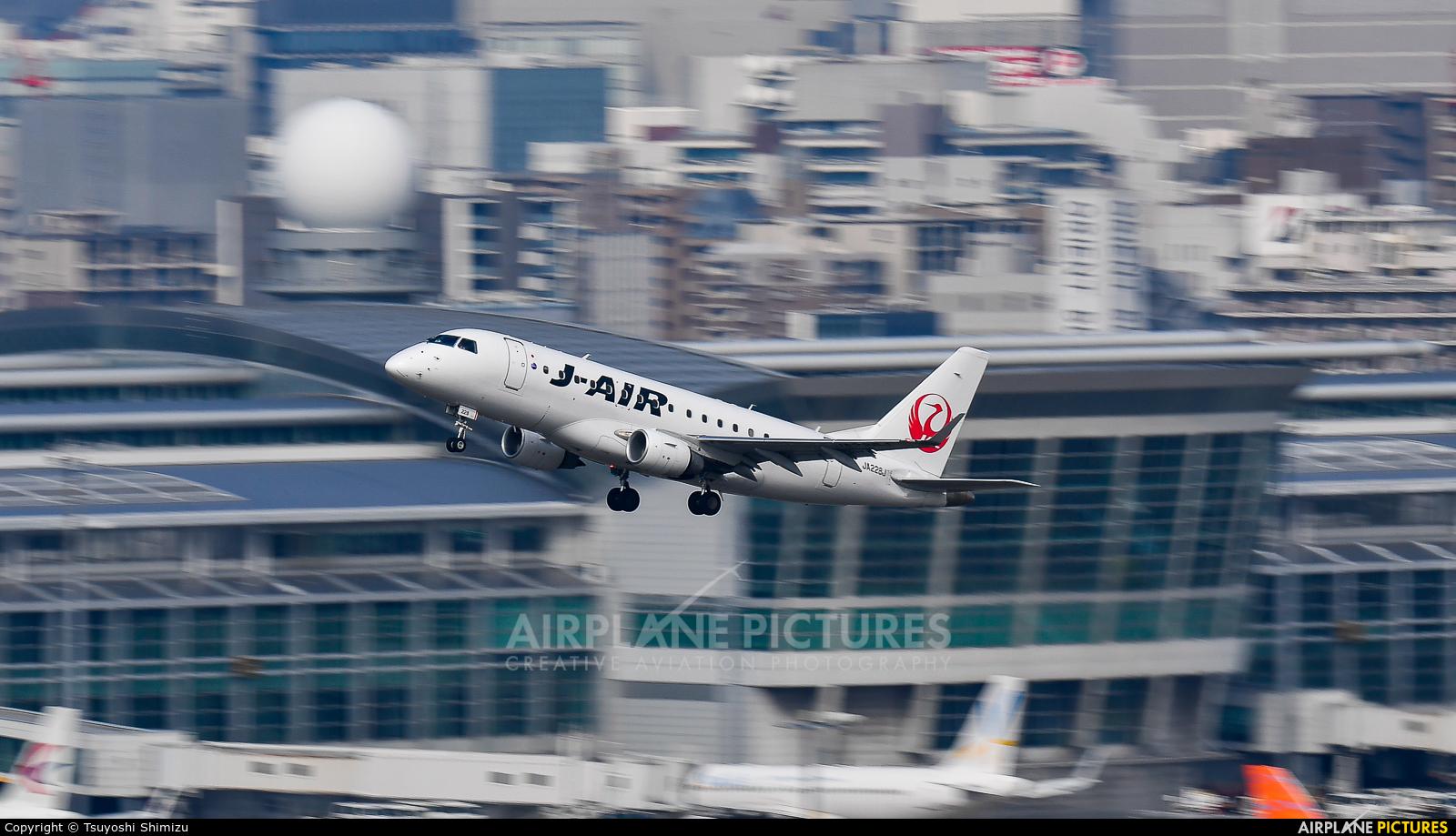 J-Air JA228J aircraft at Fukuoka