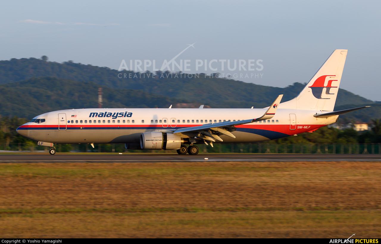 Malaysia Airlines 9M-MLF aircraft at Langkawi