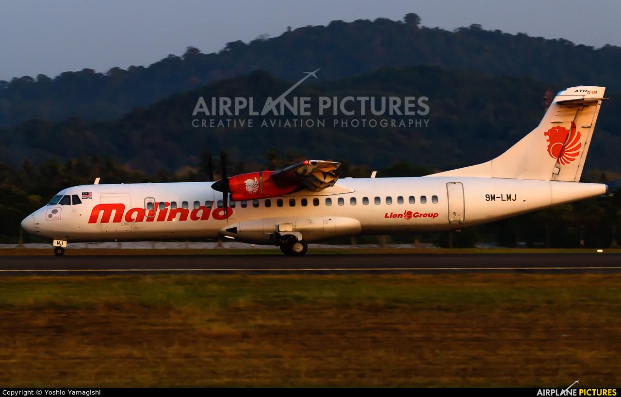 Malindo Air 9M-LMJ aircraft at Langkawi