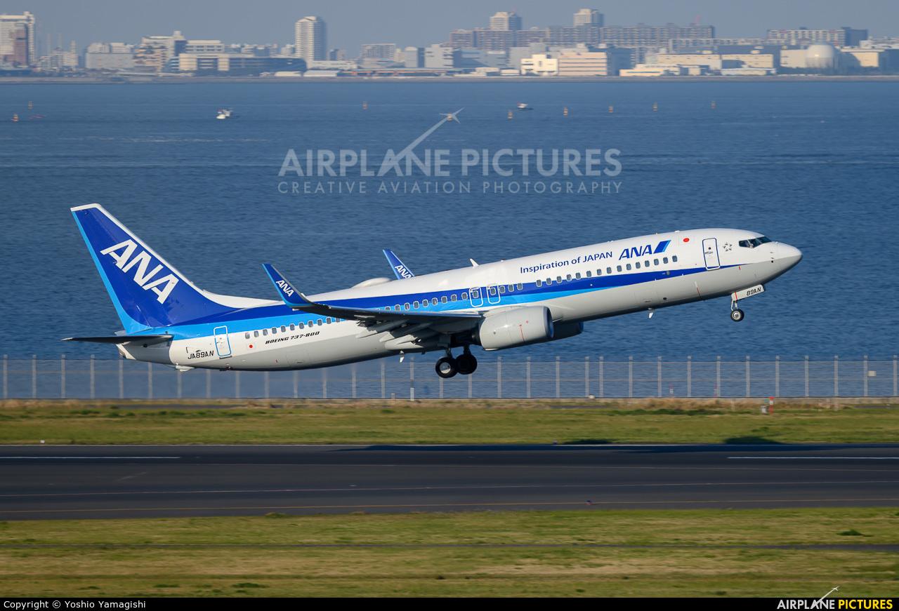 ANA - All Nippon Airways JA89AN aircraft at Tokyo - Haneda Intl