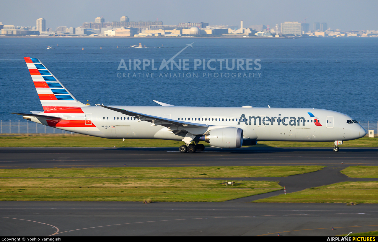 American Airlines N839AA aircraft at Tokyo - Haneda Intl