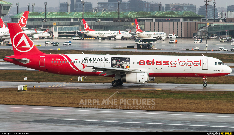 Atlasglobal TC-ETN aircraft at Istanbul - Ataturk