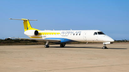5A-GAD - Global Aviation Embraer ERJ-145LR