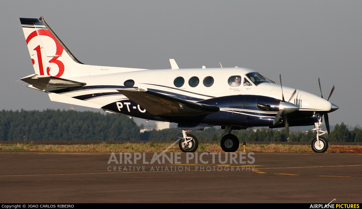 Private PT-OTG aircraft at Municipal Airport Cascavel