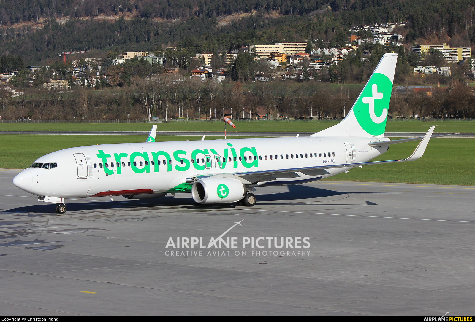 Transavia PH-HXI aircraft at Innsbruck