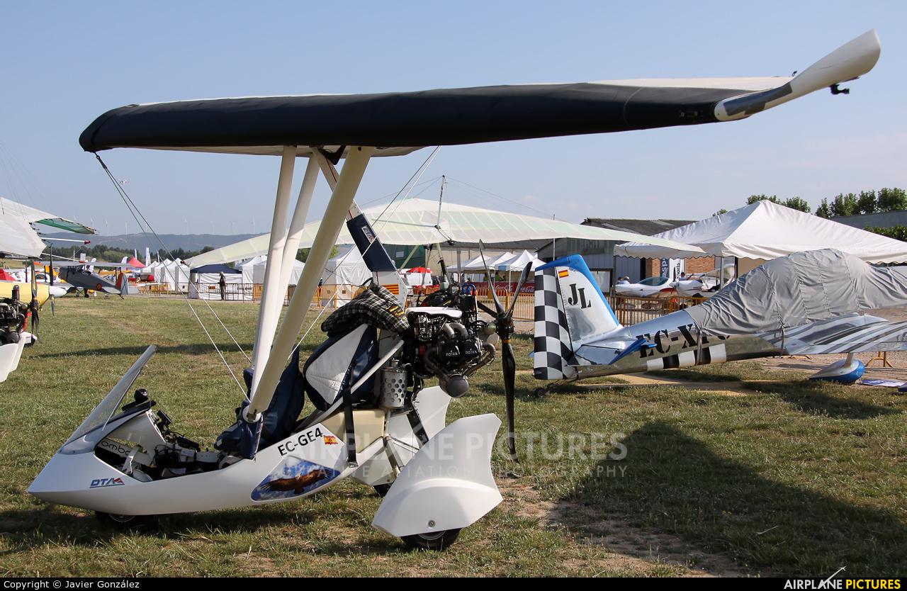 Private EC-GE4 aircraft at Igualada - Odena
