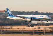 JA876A - ANA - All Nippon Airways Boeing 787-9 Dreamliner aircraft