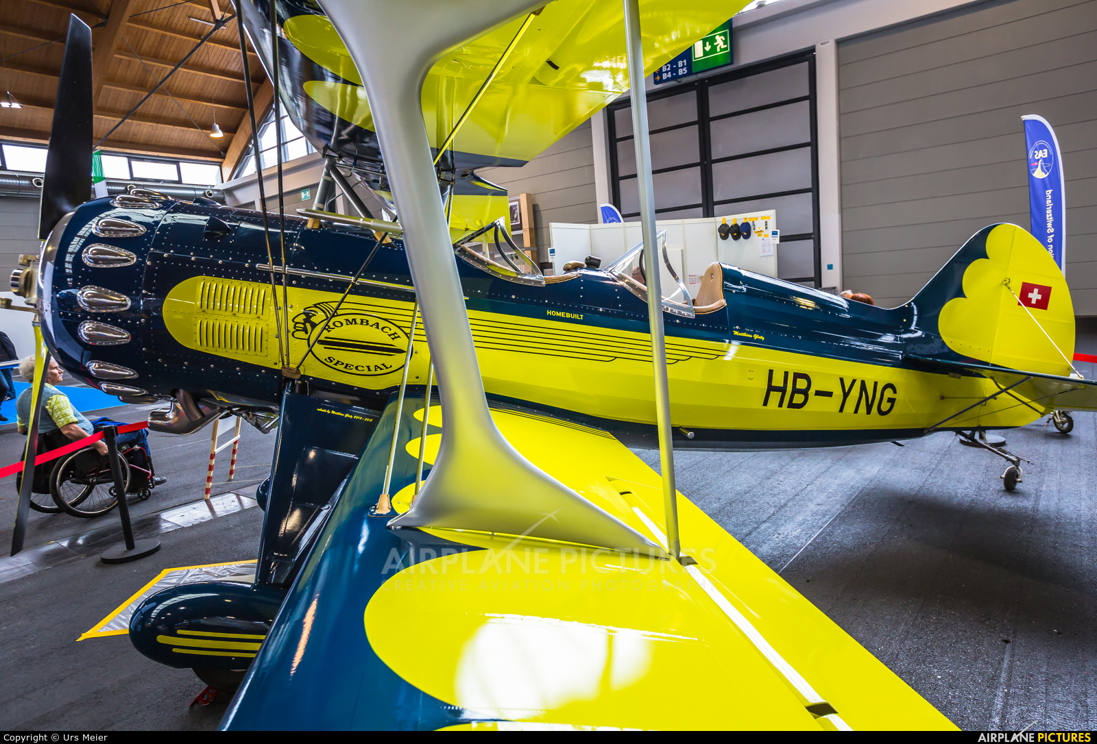 HB-YNG aircraft at Friedrichshafen