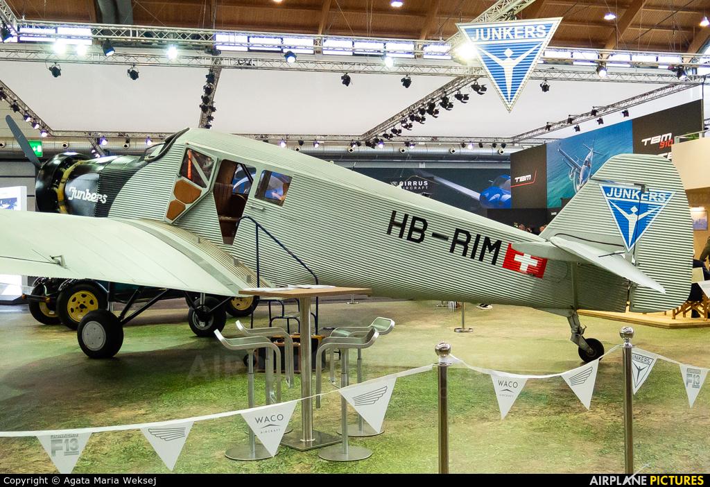 Private HB-RIM aircraft at Friedrichshafen