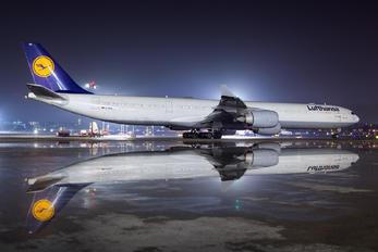 D-AIHZ - Lufthansa Airbus A340-600