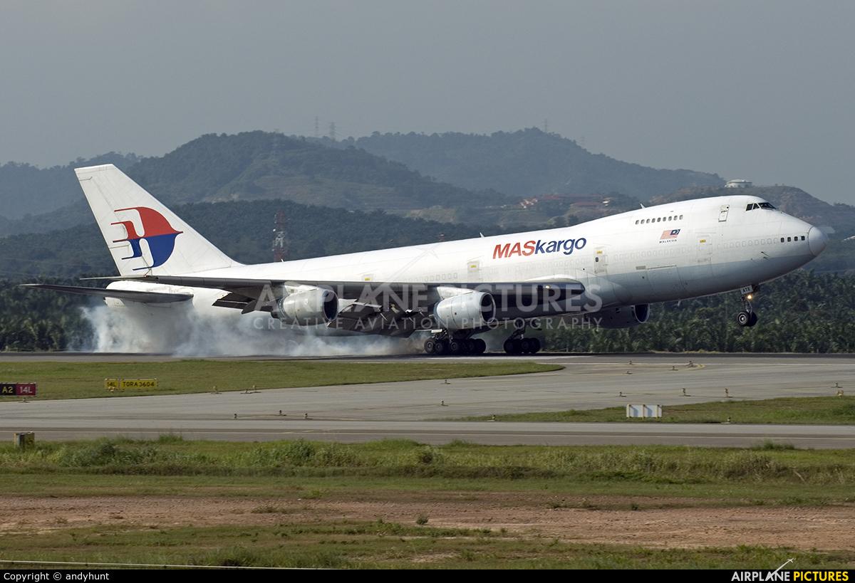 Air Atlanta Icelandic TF-ATX aircraft at Kuala Lumpur Intl
