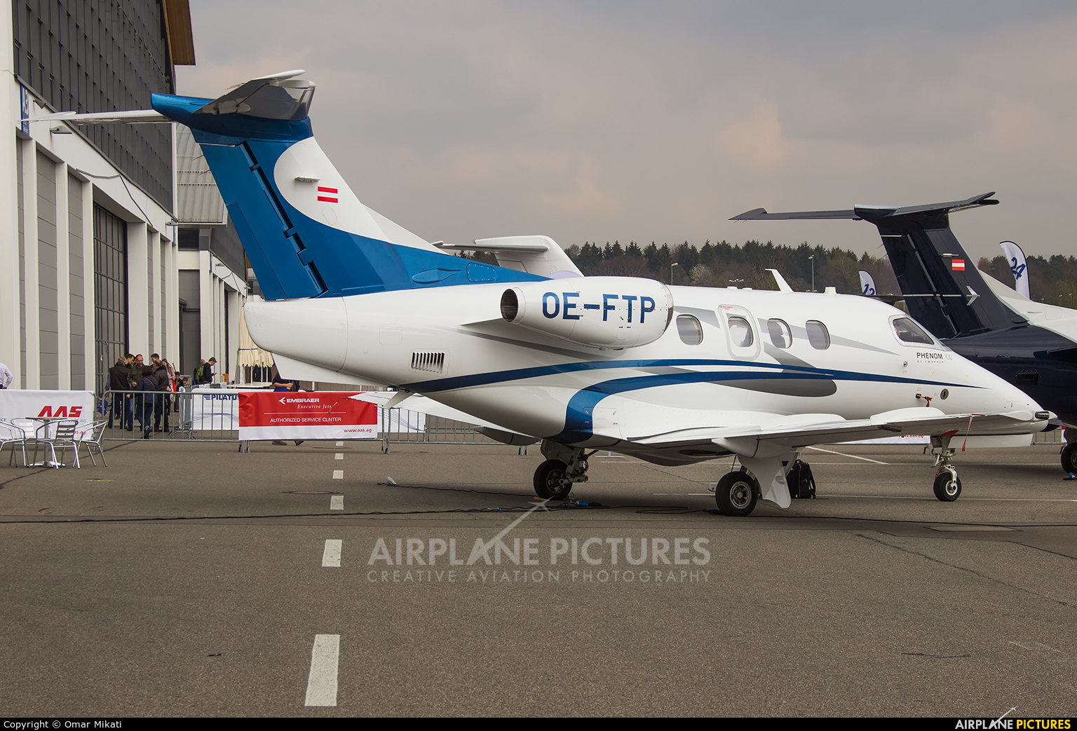 Private OE-FTP aircraft at Friedrichshafen