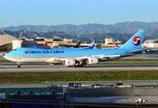 HL7610 - Korean Air Cargo Boeing 747-8F aircraft