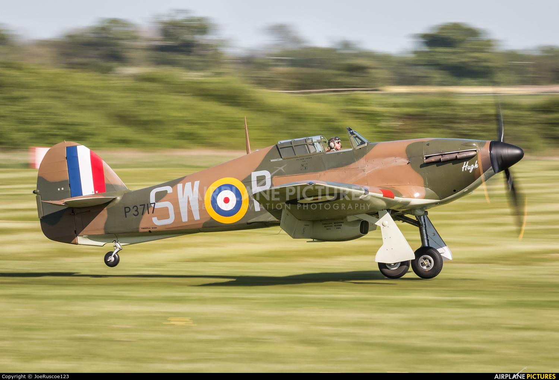 Flying Legends G-HITT aircraft at Old Warden