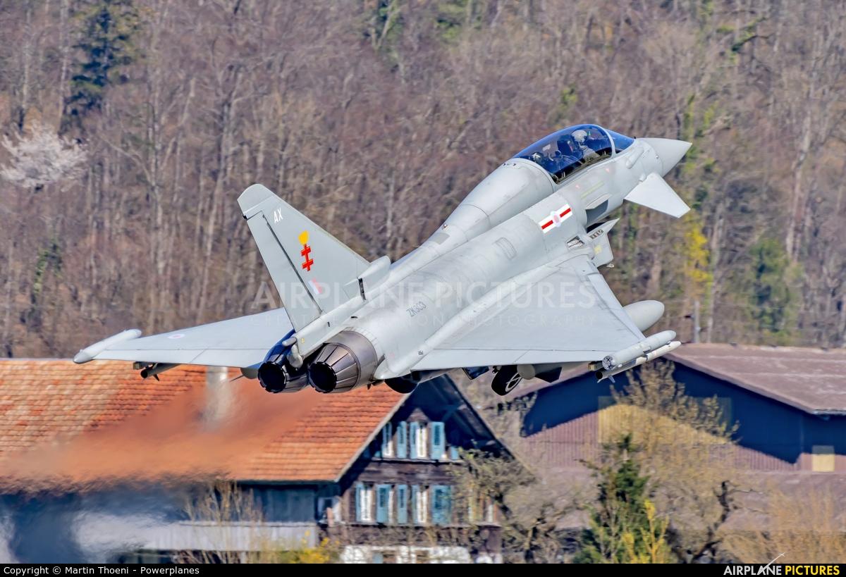Royal Air Force ZK303 aircraft at Meiringen