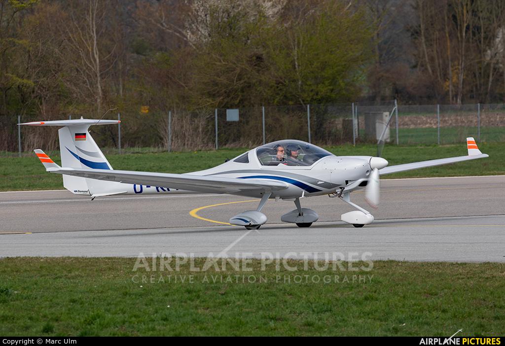 Private D-KPAT aircraft at Augsburg