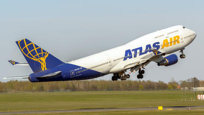 N464MC - Atlas Air Boeing 747-400