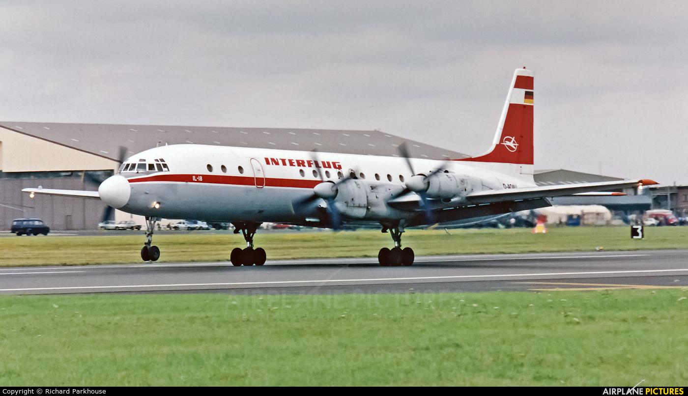 Interflug D-AOAU aircraft at Fairford