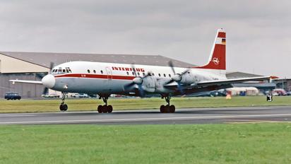 D-AOAU - Interflug Ilyushin Il-18 (all models)