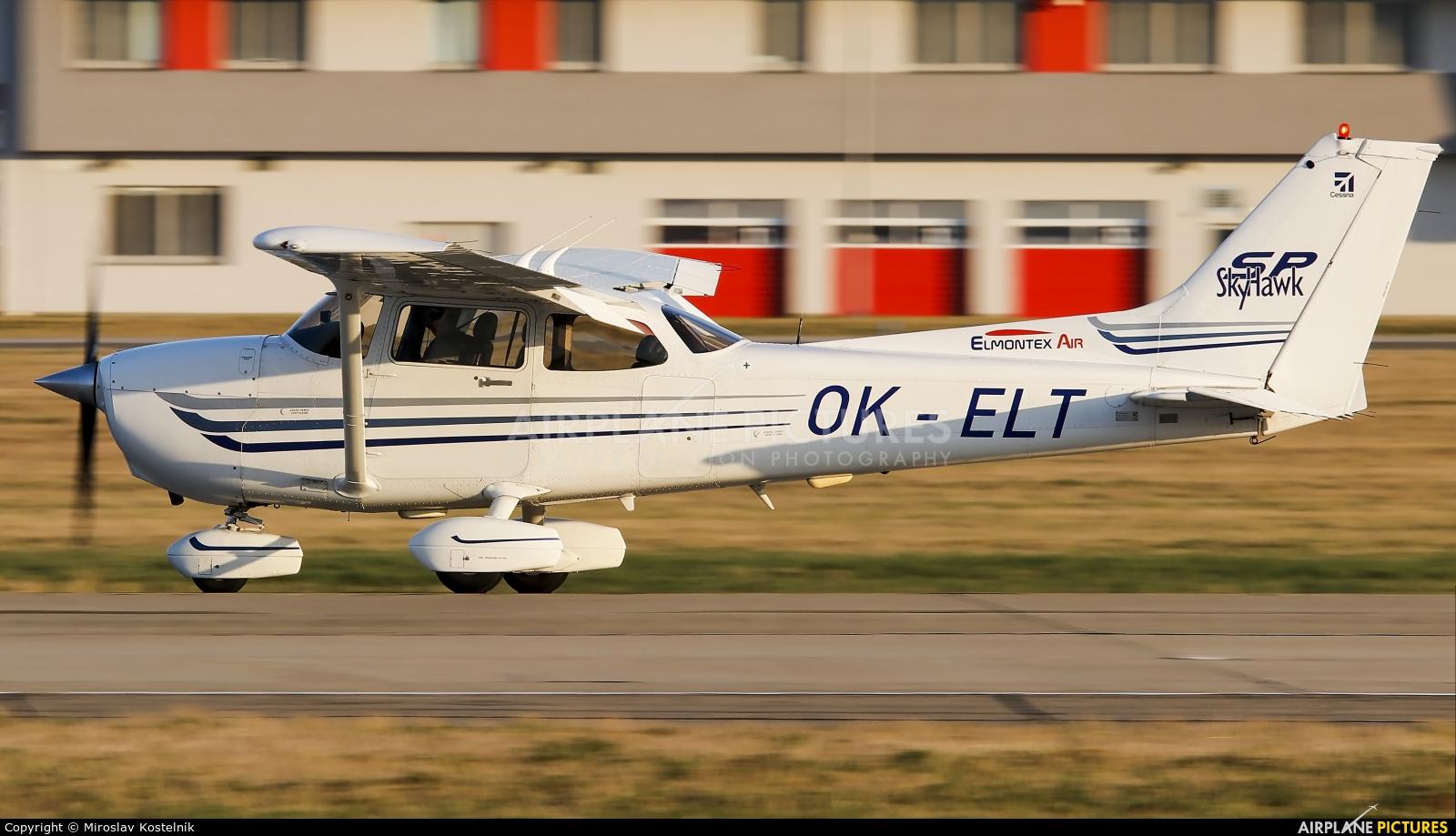 Elmontex Air OK-ELT aircraft at Ostrava Mošnov
