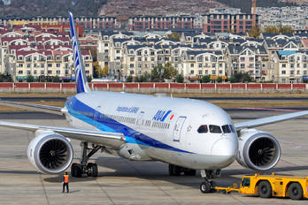 JA837A - ANA - All Nippon Airways Boeing 787-8 Dreamliner