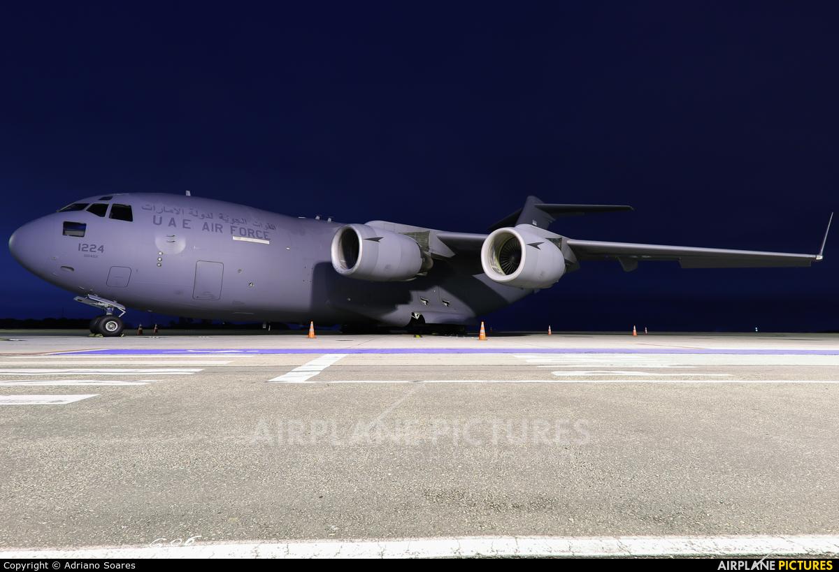 United Arab Emirates - Air Force 1224 aircraft at Curitiba -  Afonso Pena