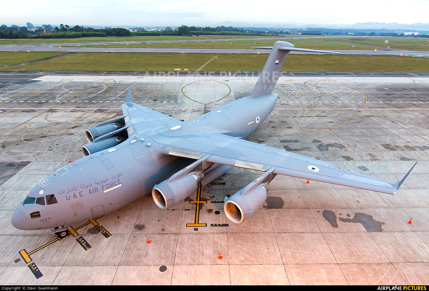 United Arab Emirates - Air Force 1224 aircraft at Curitiba -  Afonso Pena