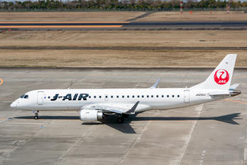 JA252J - J-Air Embraer ERJ-190 (190-100)