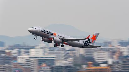 JA25JJ - Jetstar Japan Airbus A320