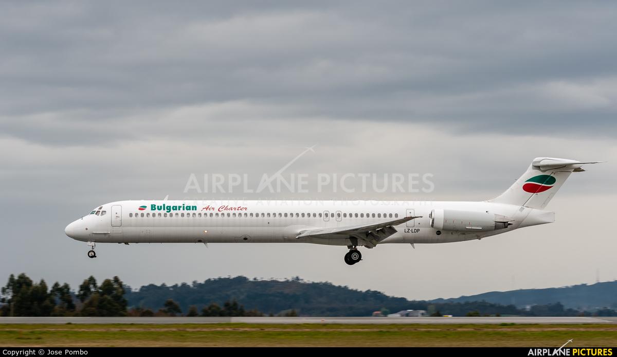 Bulgarian Air Charter LZ-LDP aircraft at Santiago de Compostela