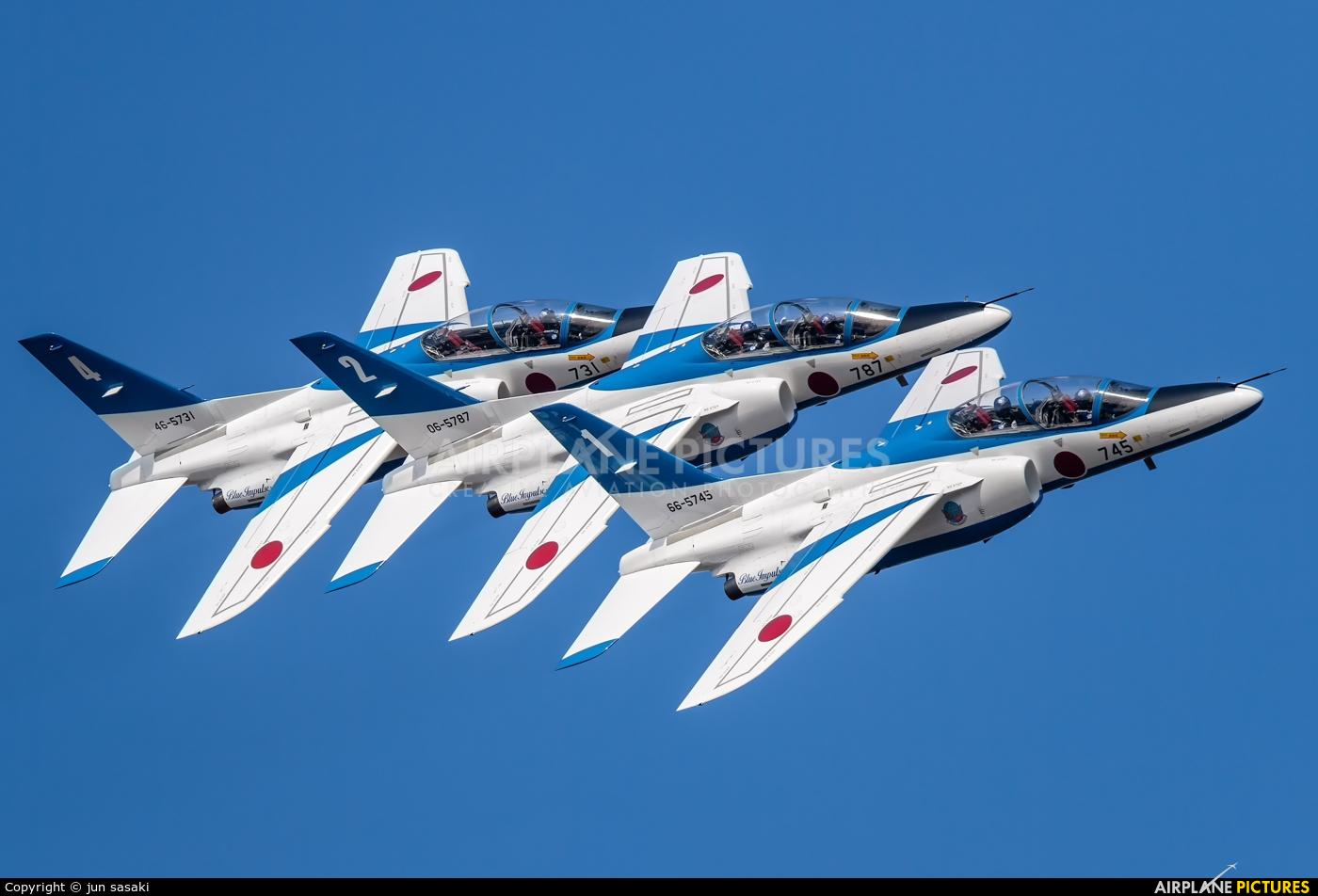 Japan - ASDF: Blue Impulse - aircraft at Gifu AB