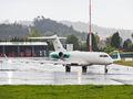 Private Bombardier BD-700 Global 6000 EC-MSC at La Coruña airport