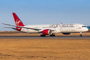 Virgin Boeing 787-9 visited Helsinki title=