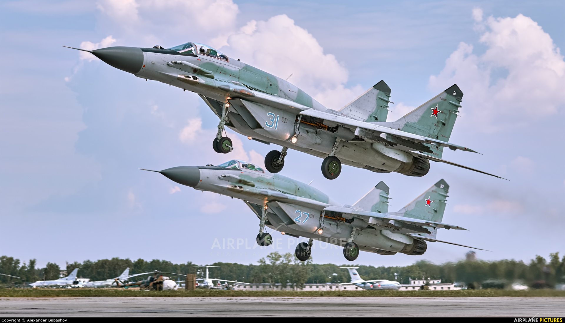 Russia - Air Force 31 aircraft at Undisclosed Location