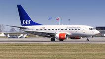LN-RGK - SAS - Scandinavian Airlines Boeing 737-600 aircraft