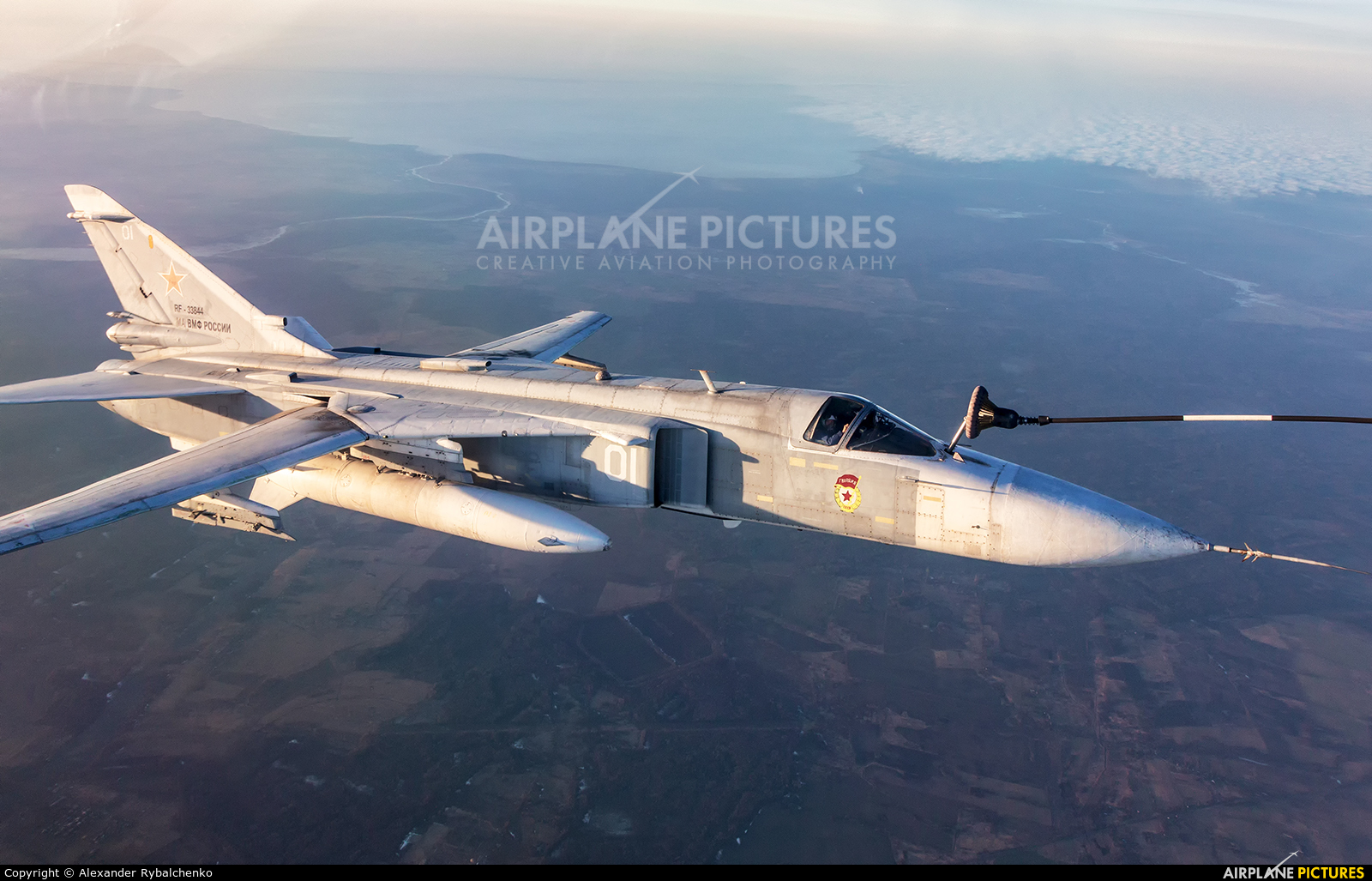 Russia - Navy RF-33844 aircraft at Undisclosed Location