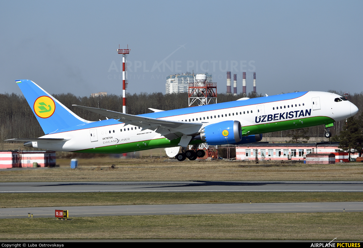 Uzbekistan Airways UK78704 aircraft at