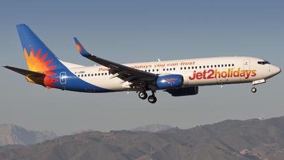 G-JZBG - Jet2 Boeing 737-800