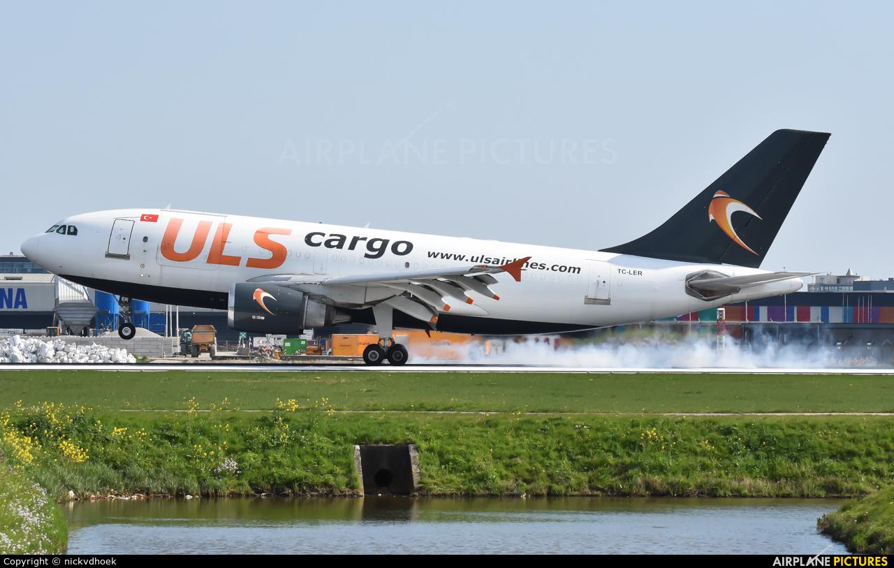 ULS Cargo TC-LER aircraft at Amsterdam - Schiphol