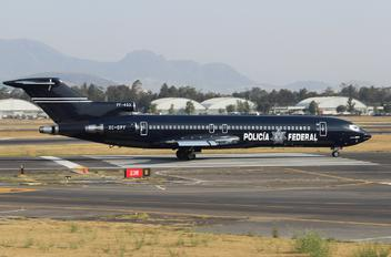 XC-OPF - Mexico - Police Boeing 727-200 (Adv)