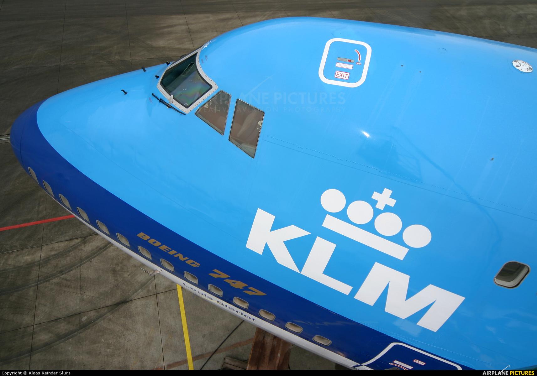 KLM PH-BUK aircraft at Amsterdam - Schiphol