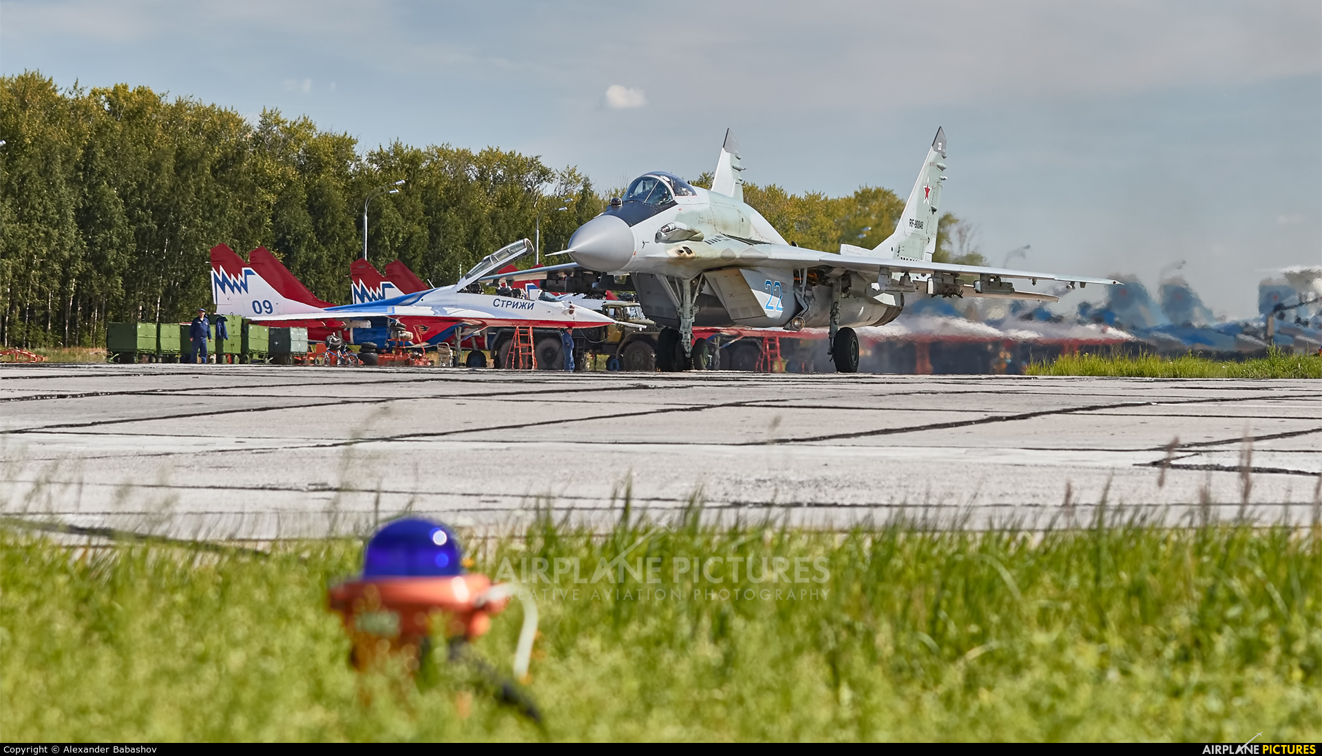 Russia - Air Force 22 aircraft at Undisclosed Location