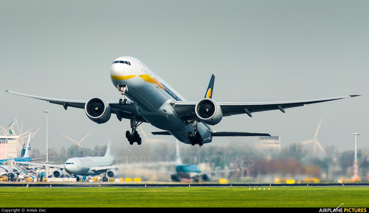 Jet Airways VT-JEM aircraft at Amsterdam - Schiphol