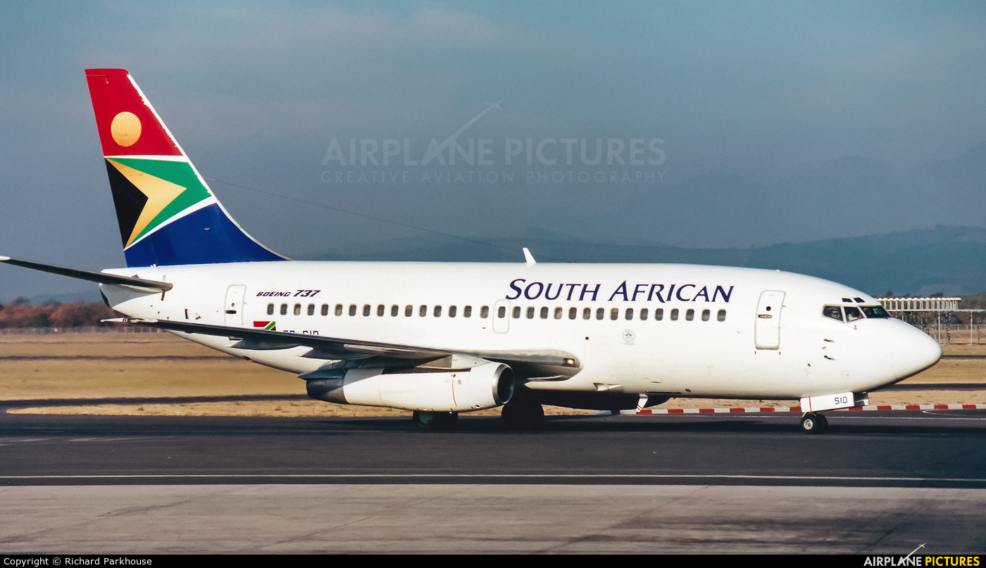 South African Airways ZS-SIO aircraft at Cape Town Intl