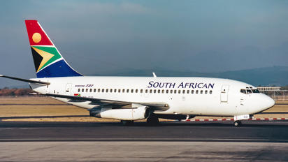 ZS-SIO - South African Airways Boeing 737-200