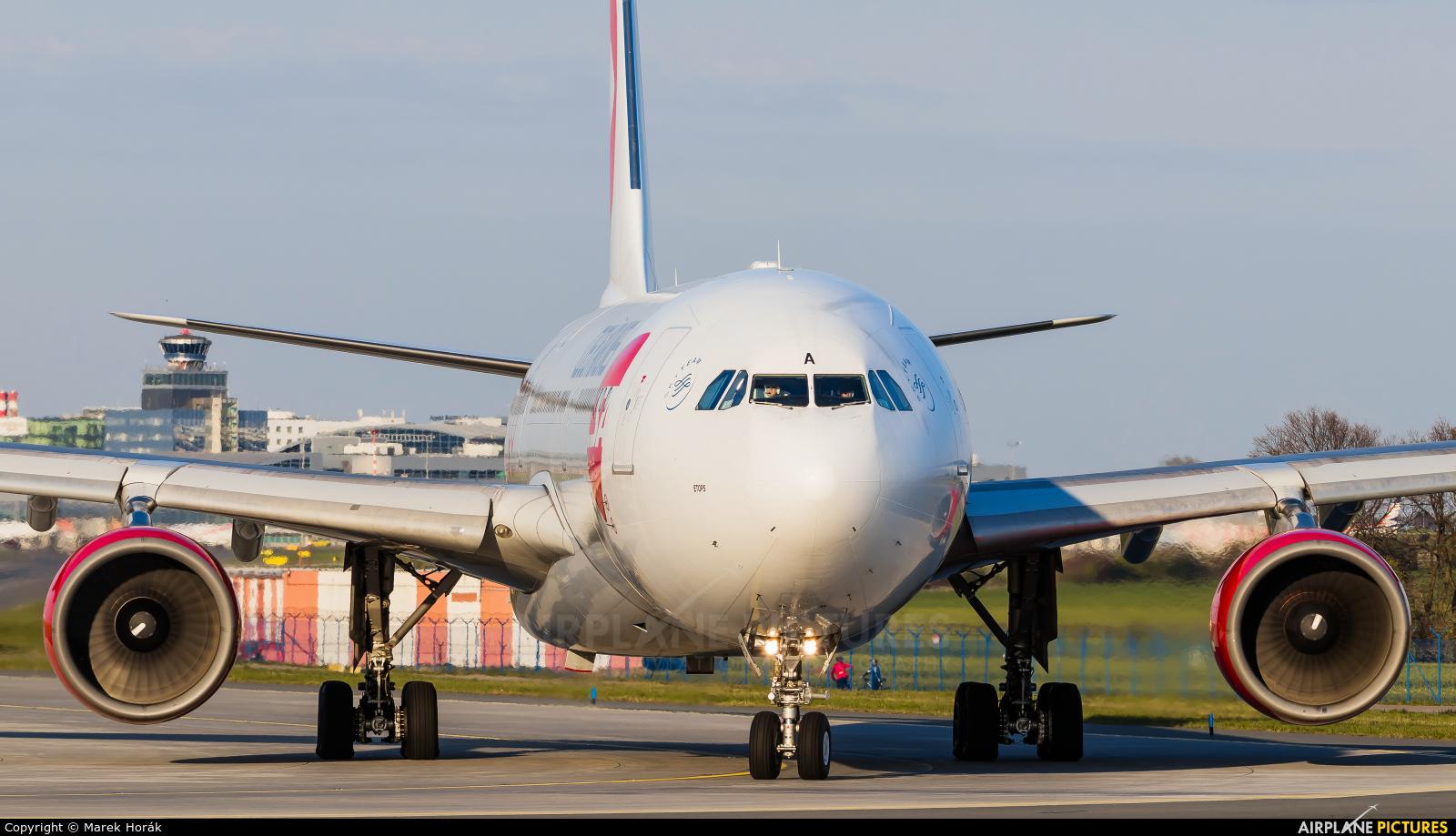 CSA - Czech Airlines OK-YBA aircraft at Prague - Václav Havel