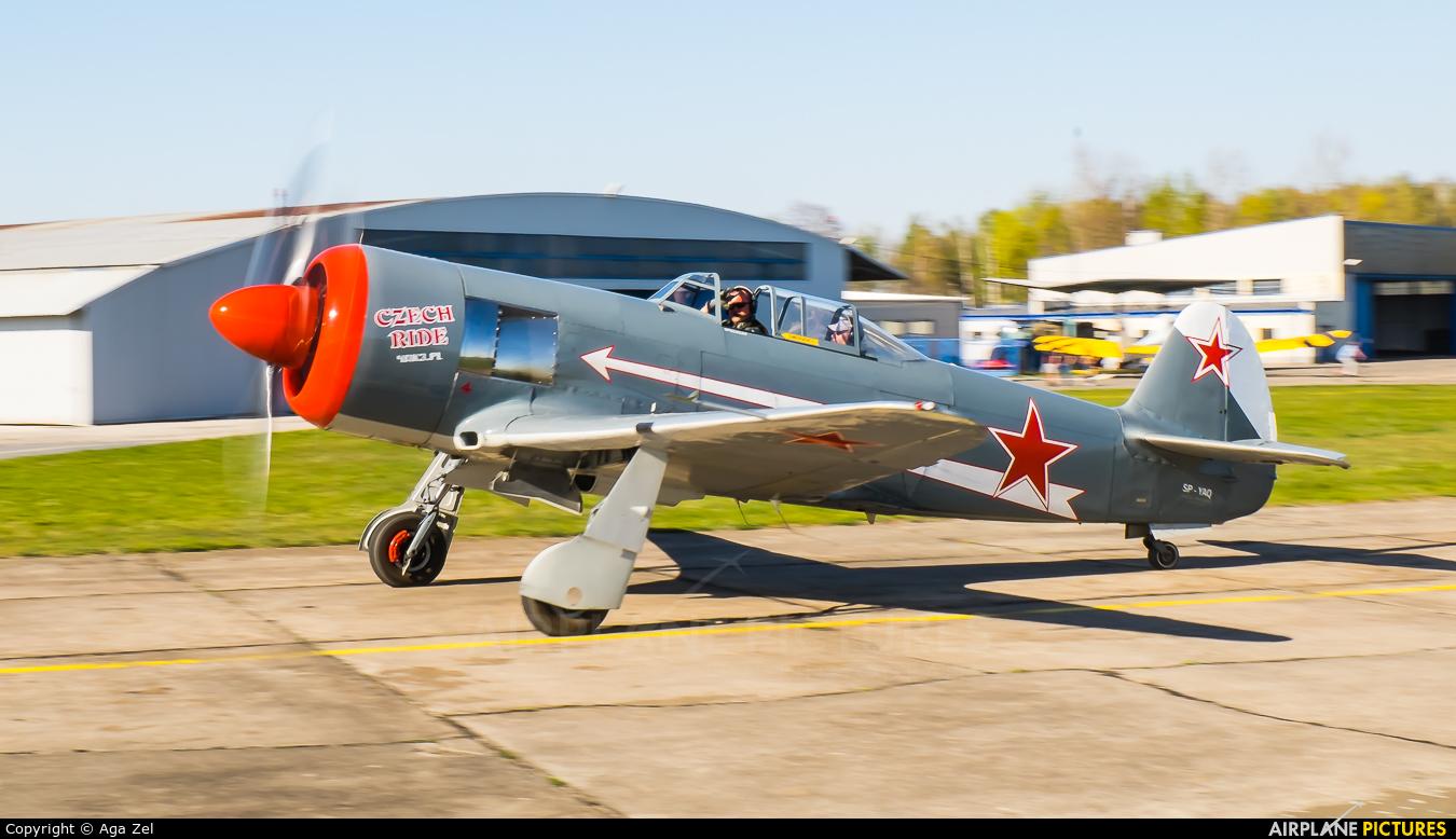 Private SP-YAQ aircraft at Czestochowa - Rudniki