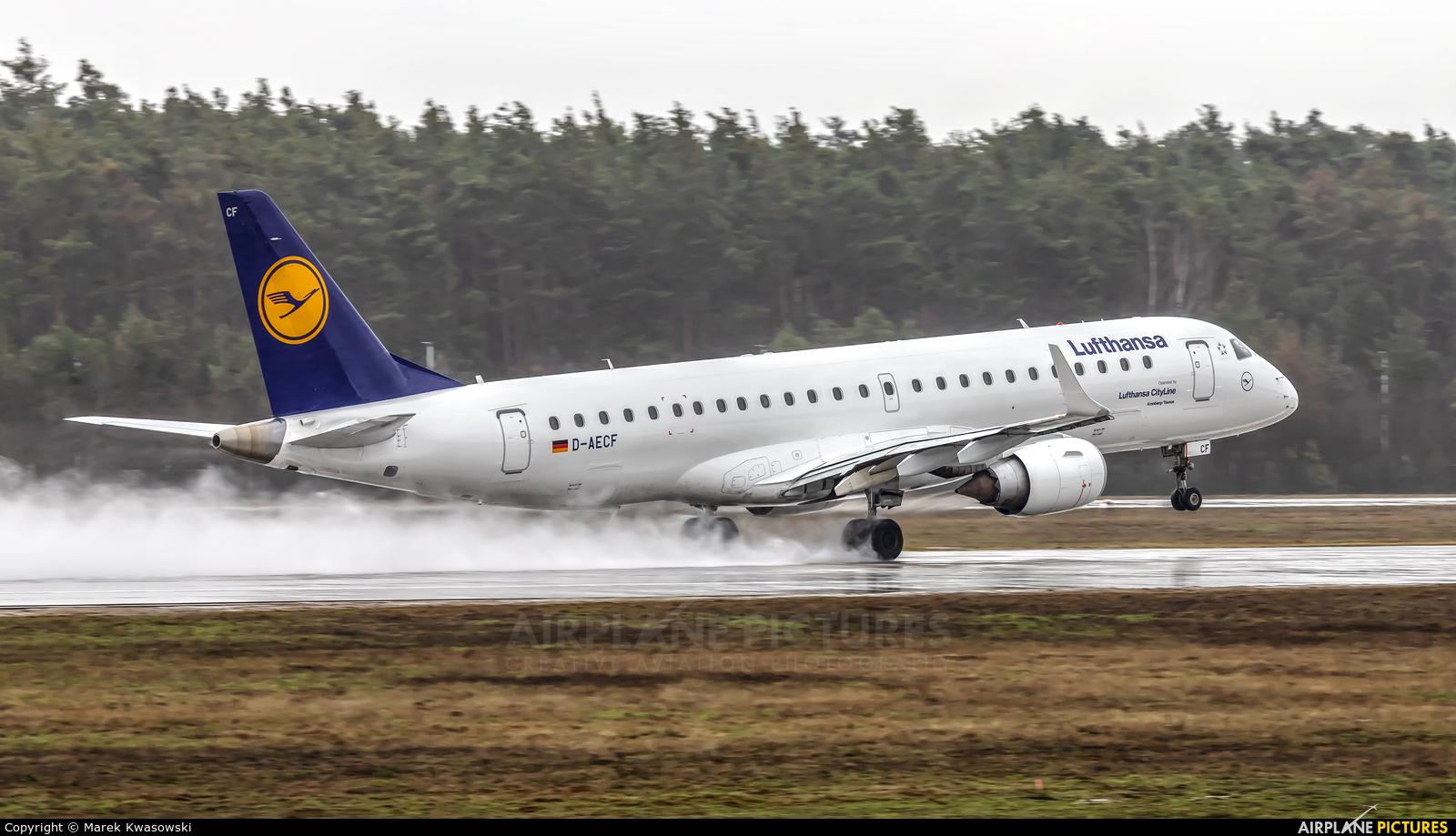 Lufthansa Regional - CityLine D-AECF aircraft at Frankfurt