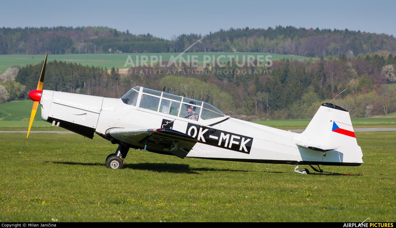 Aeroklub Czech Republic OK-MFK aircraft at Moravská Třebová
