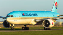 HL8075 - Korean Air Cargo Boeing 777F aircraft